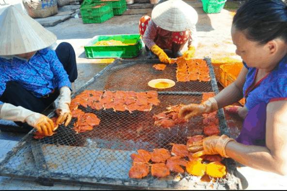 Cách làm hải sản khô