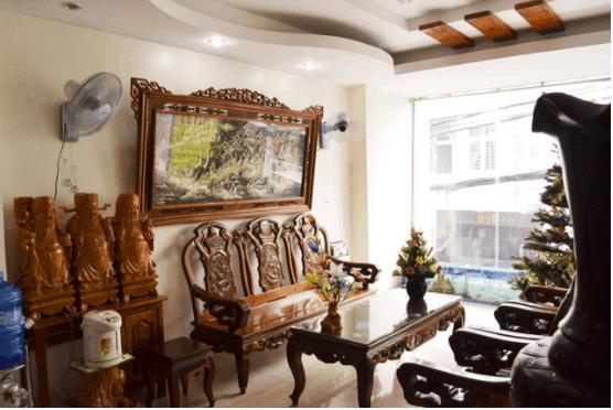 Phòng chờ của khách sạn Hải Anh