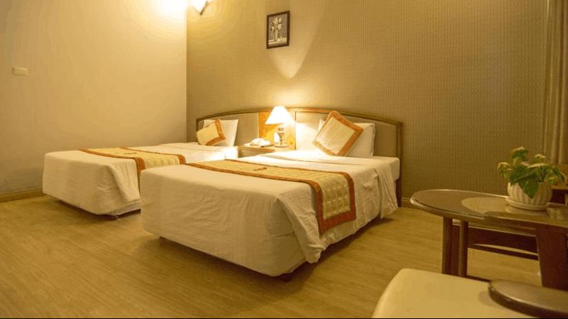 Phong cách thiết kế phòng ngủ của khách sạn