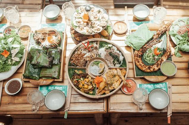 Nhà hàng Ân Nam Quán (Ảnh ST)
