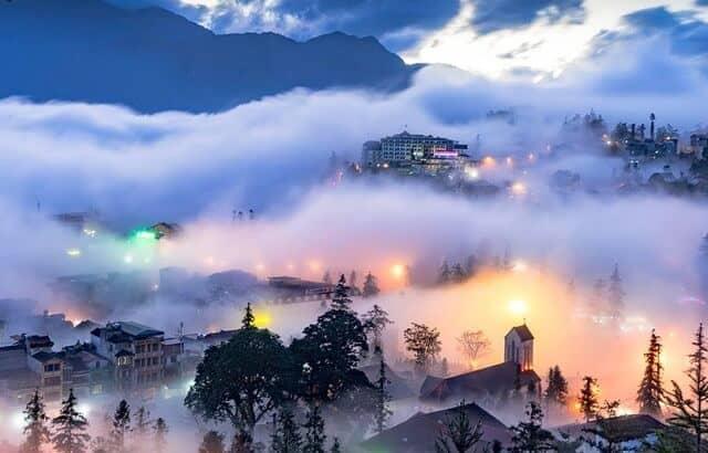 Sapa - Thị trấn mờ sương