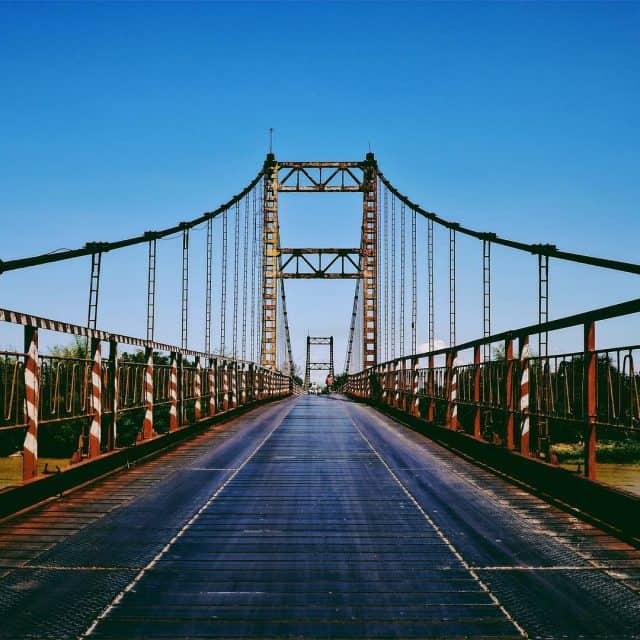 Cầu treo Kon Klor (Ảnh sưu tầm)