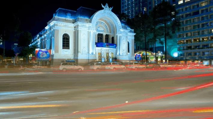 Hình ảnh nhà hát lớn thành phố Hồ Chí Minh