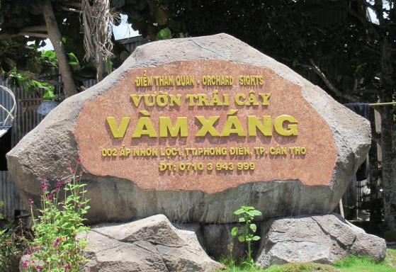 Khu du lịch Vàm Xáng (Ảnh ST)