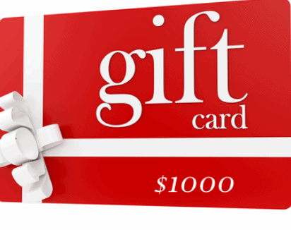 Thẻ quà tặng (Ảnh ST)