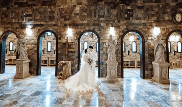 Ảnh cưới sang chảnh tại Lâu đài Long Island