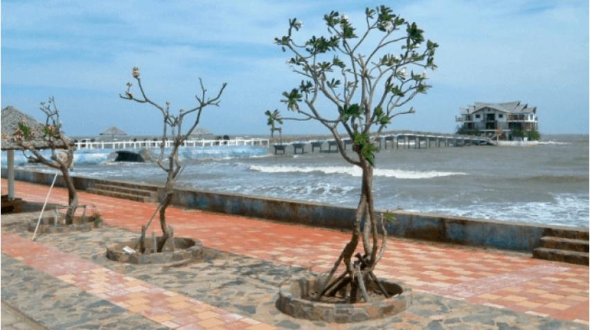 Khách sạn hướng biển khung cảnh lãng mạn