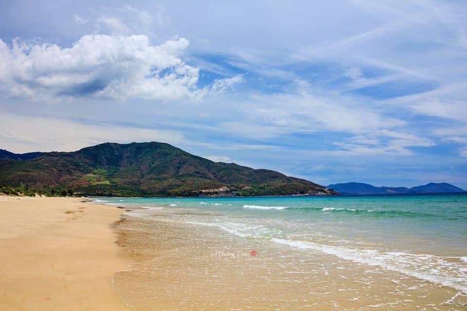 Bờ biển Dài Nha Trang. (Ảnh ST)