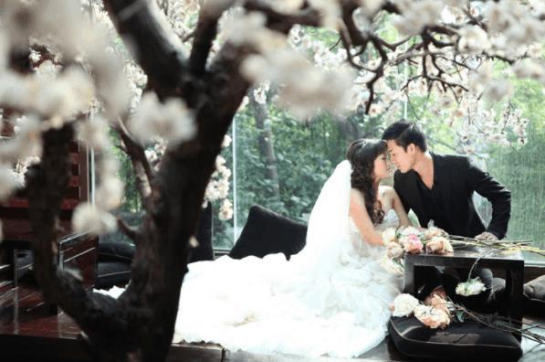 Chiêm ngưỡng bức ảnh cưới đẹp được chụp tại quán Cafe