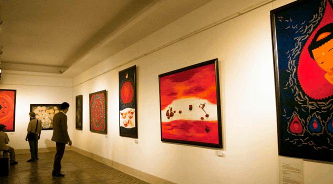 Du khách sẽ được chiêm ngưỡng những tác phẩm nghệ thuật tại bảo tàng