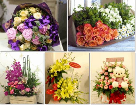 Giá các loại hoa không có nhiều biến động trong ngày 20/11