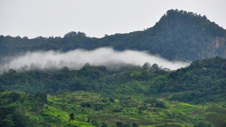 Toàn cảnh về núi Ngọc Linh. (Ảnh ST)