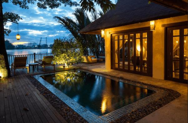 Hình ảnh khu nghỉ dưỡng tuần trăng mật ở An Lâm Retreats Saigon River