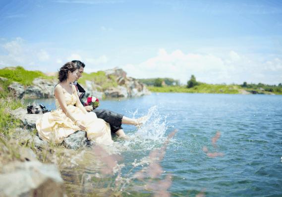 Hồ đá - Địa điểm chụp hình ngoại cảnh TP HCM