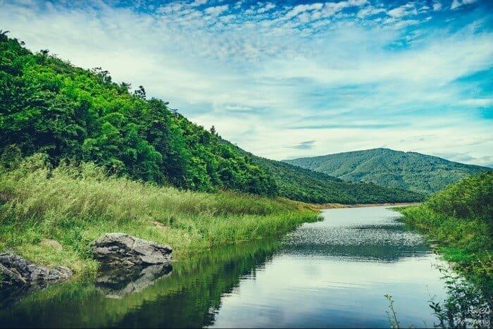 Hồ Xạ Hương - địa điểm hấp dẫn du khách ở Vĩnh Phúc