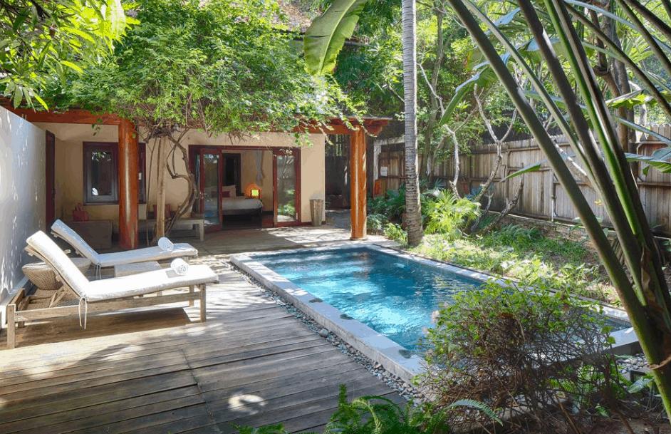 Không gian nghỉ dưỡng xanh mát tại An Lâm Sài Gòn River