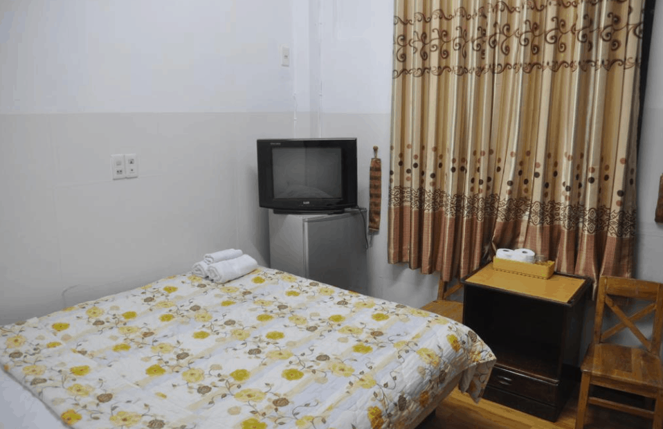 Không gian phòng nghỉ tại Venus Hostel