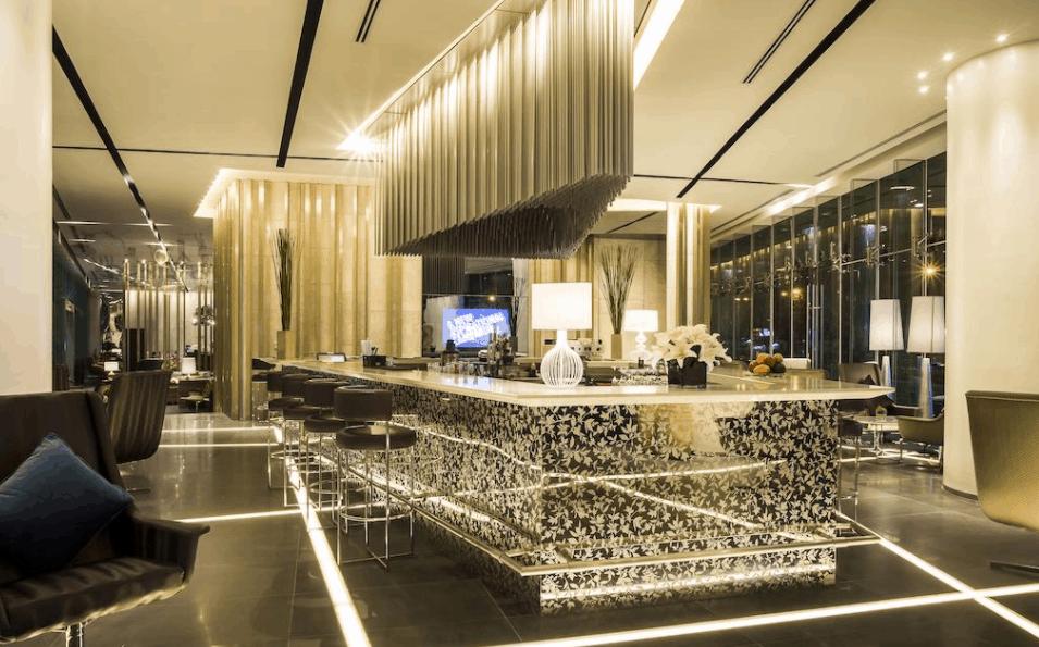 Hình ảnh quán bar tại khách sạn Pullman Saigon Centre