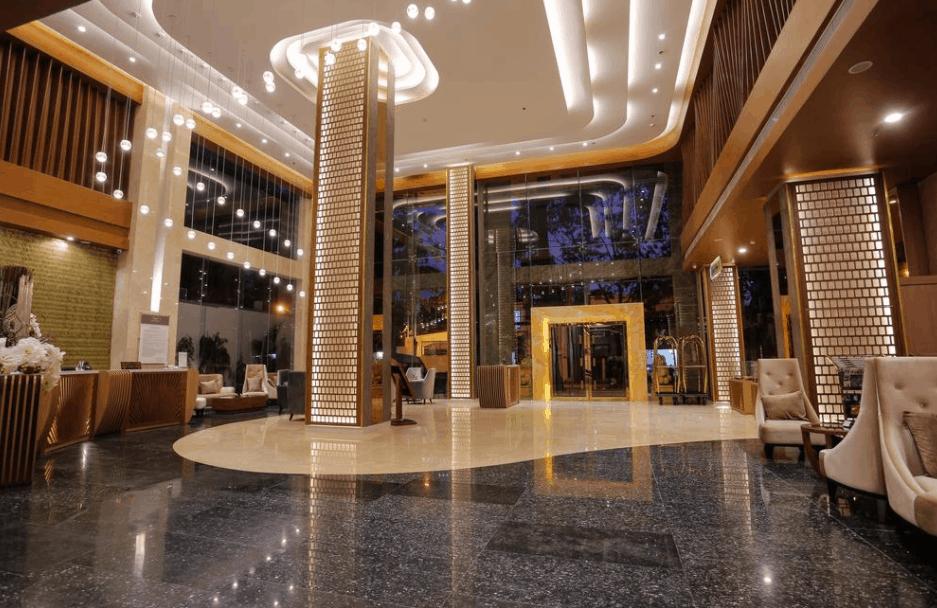 Sảnh chính khách sạn Mường Thanh Sài Gòn Centre