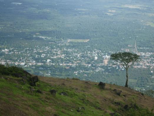 Một góc Đồng Nai nhìn từ núi Chứa Chan