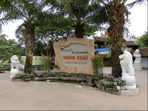 Địa điểm du lịch lý tưởng khu du lịch sinh thái Vườn Xoài