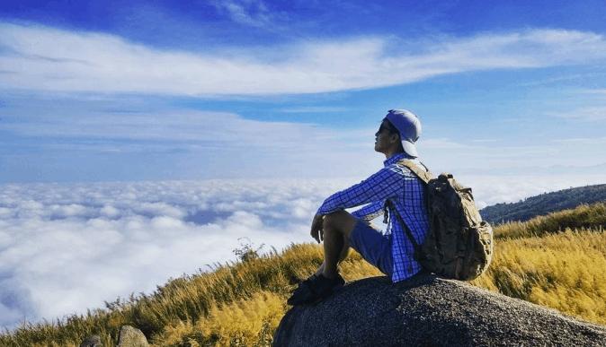 Cảnh đẹp tại núi Chứa Chan
