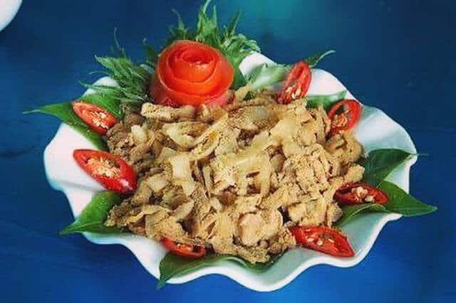 Đặc sản thịt chua Phú Thọ