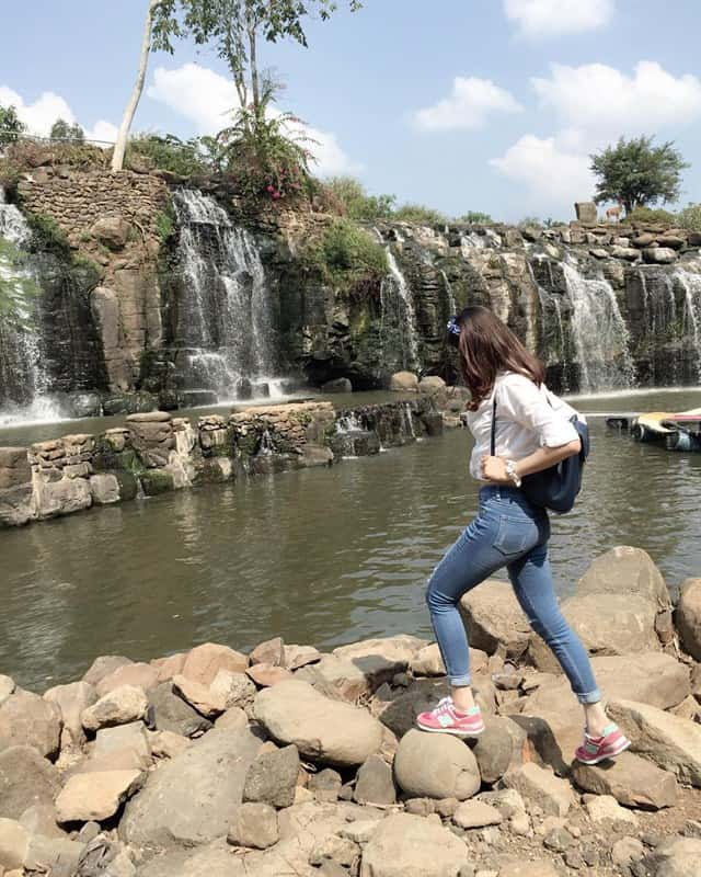 Đi picnic tại thác Đá Hàn
