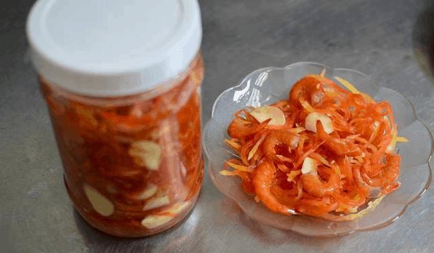 Tôm chua - Đặc sản Huế