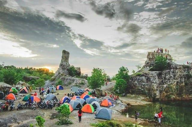 Cắm trại tại Hồ An Giang qua đêm