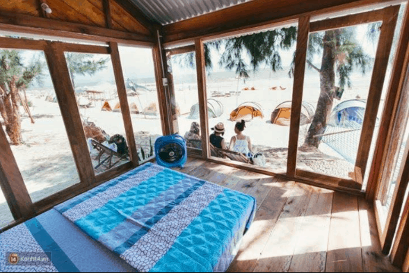 Nội thất phòng nghỉ ở Coco