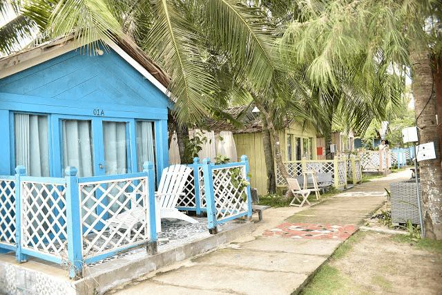 Nhà gỗ view vườn