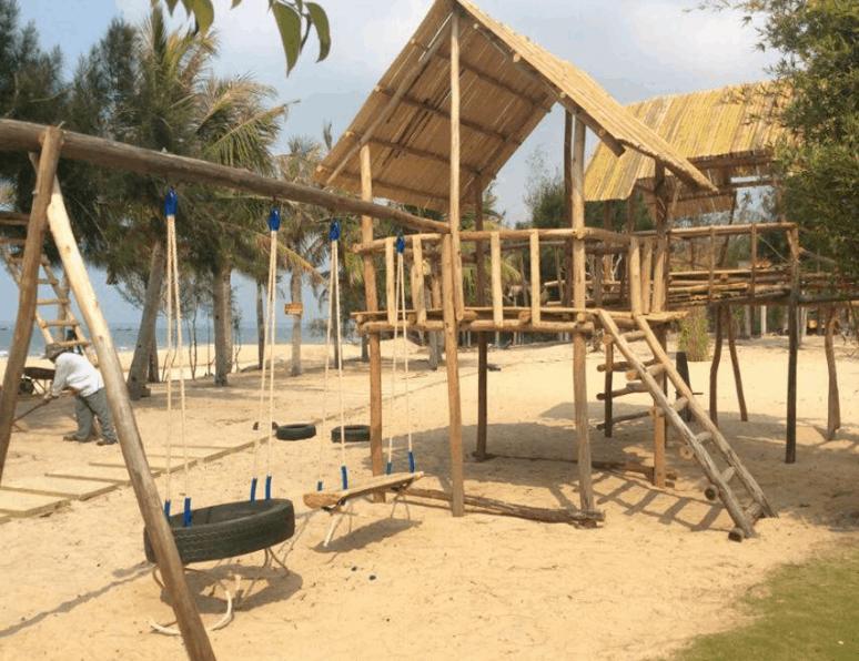 Một góc Coco Beach Camp Lagi Bình Thuận