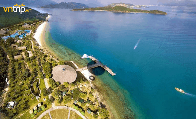 Khu resort cao cấp tại hòn Tằm (Ảnh: Sưu tầm)