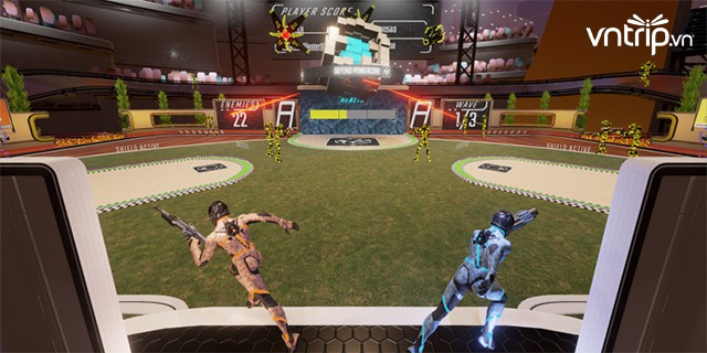 Cuối tuần lập team quậy tung Dream Games Stadium Royal City