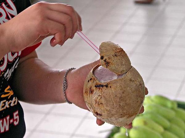Thức uống độc đáo của người Thái (Ảnh ST)