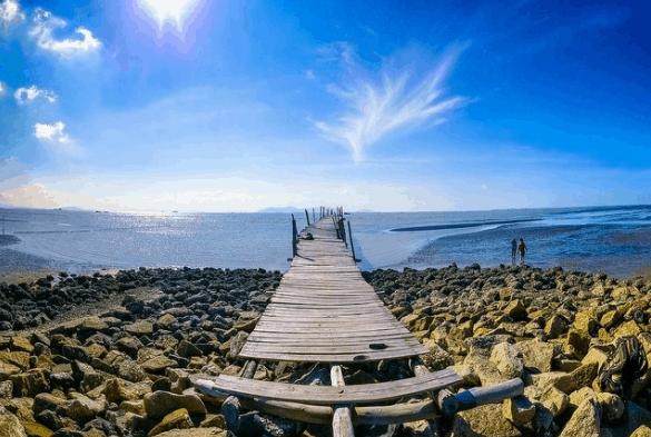 Một góc ảnh đẹp tại biển 30 tháng 4