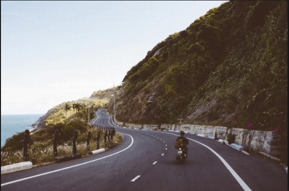 Con đường đi đến Mũi Né (ảnh ST)