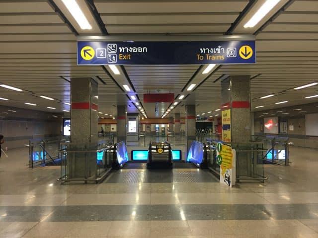 Trạm MRT Kampheng (Ảnh ST)
