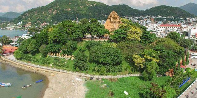 Tháp Bà Ponagar ở Nha Trang (Ảnh ST)