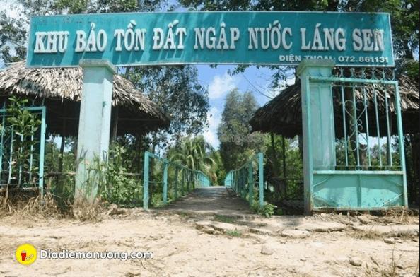 Khu bảo tồn đất ngập nước Láng Sen