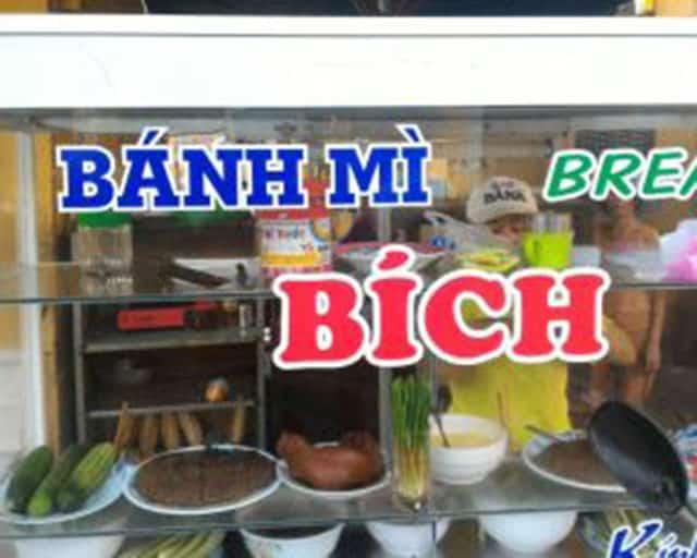 Bánh mì Bích 57 Phan Chu Trinh (Ảnh ST)