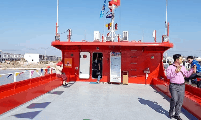 Boong tàu Phú Quốc Express