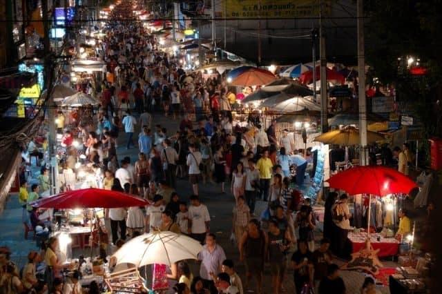 Chợ Chatuchak Bangkok Thái Lan (Ảnh ST)