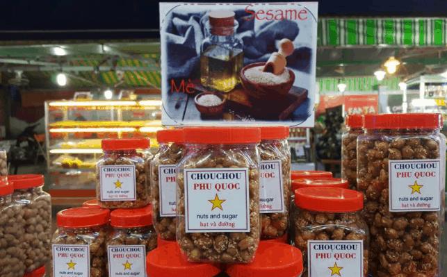 Đậu phộng caramen có thể mua về làm quà