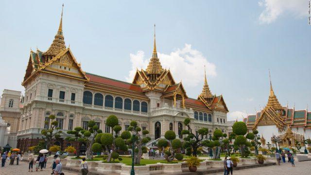 Hoàng cung Thái Lan (Ảnh ST)