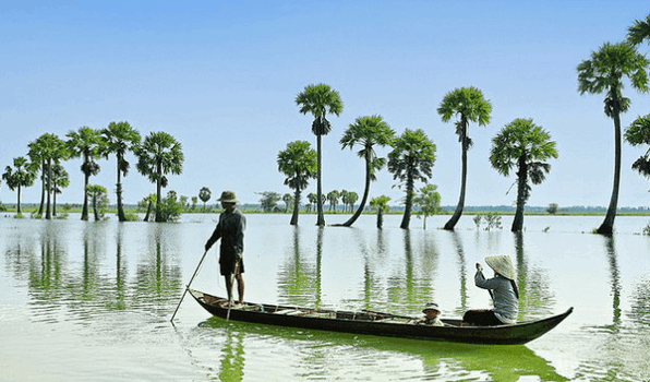Most beautiful places in Mekong Delta