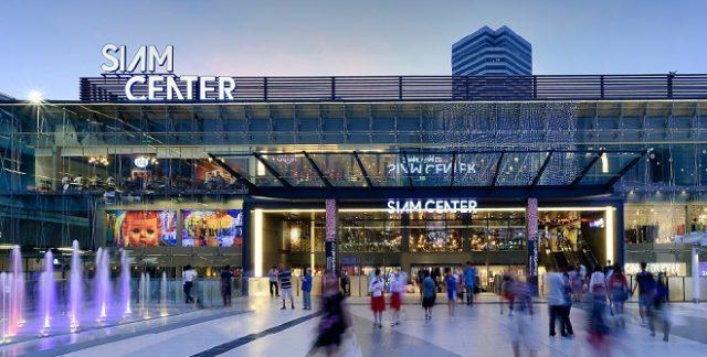 Khu trung tâm thương mại sầm uất ở Bangkok (Ảnh ST)