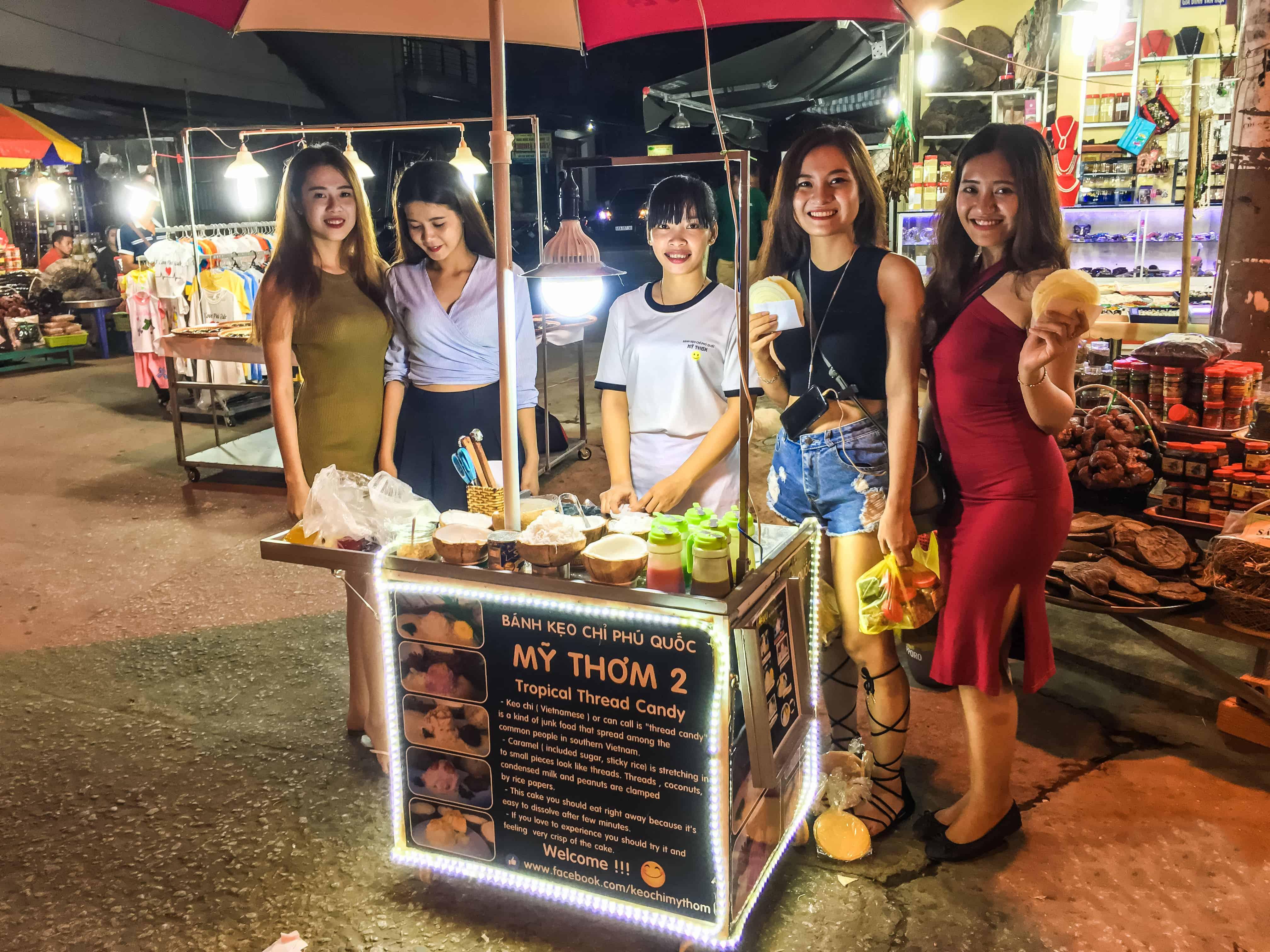 Tới Phú Quốc thưởng thức món kẹo chỉ độc lạ
