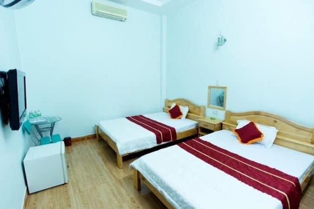 Phòng nghỉ trong Diamo - khách sạn Kon Tum (Ảnh ST)